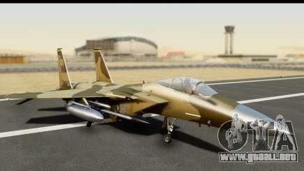 F-15C Eagle Desert Aggressor para GTA San Andreas