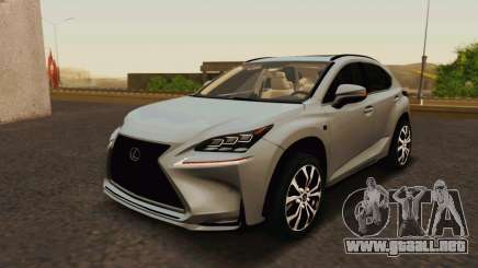 Lexus NX200T v2 para GTA San Andreas