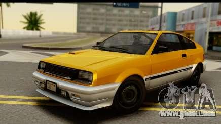 GTA 4 Blista Compact para GTA San Andreas