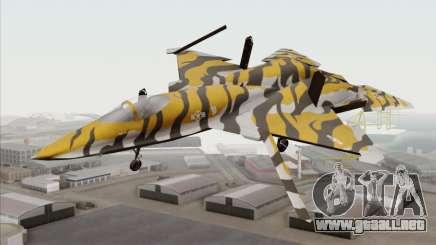 YF-23 Black Widow II Tigermeet para GTA San Andreas