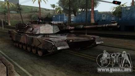 M1A2 Abrams Autumn Camo para GTA San Andreas