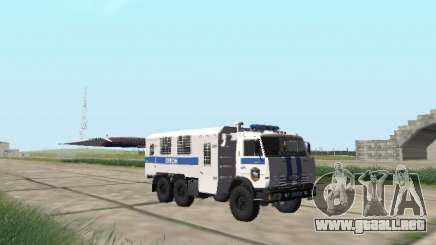 KamAZ-43114 un OMON para GTA San Andreas