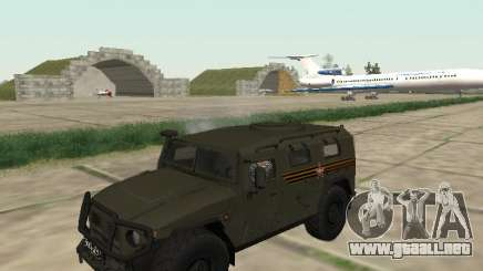 GAZ 2330 Frente para GTA San Andreas