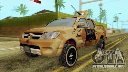 Toyota Hilux Siria Rebels para GTA San Andreas