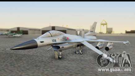 F-2A Zero White para GTA San Andreas