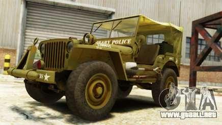 Ford Willys 1942 para GTA 4