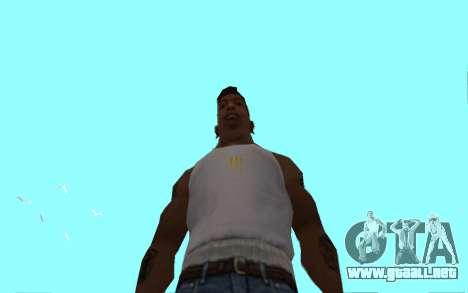 Цепь Monster Energy para GTA San Andreas quinta pantalla