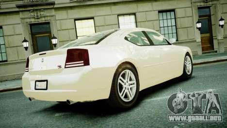 Dodge Charger RT 2006 para GTA 4 left