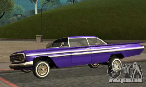 Luni Voodoo Remastered para vista inferior GTA San Andreas