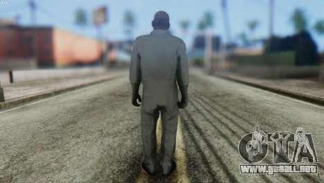 Pilot Skin from GTA 5 para GTA San Andreas segunda pantalla