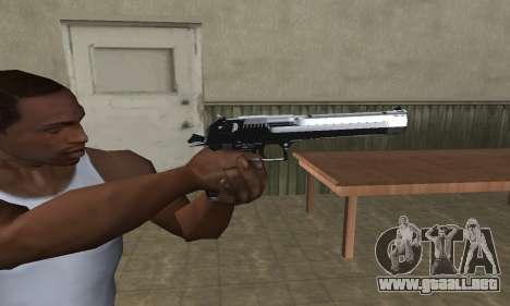 Refle Deagle para GTA San Andreas tercera pantalla