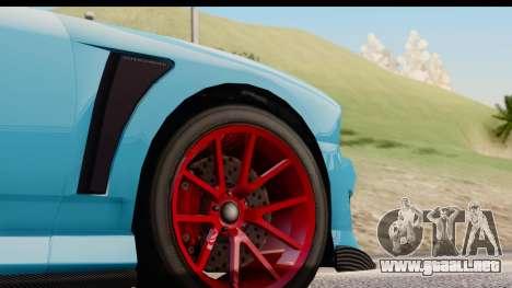 GTA 5 Bravado Buffalo S Sprunk IVF para visión interna GTA San Andreas