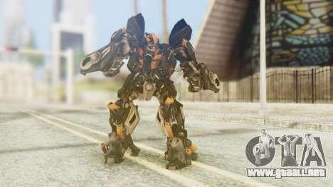 Bumblebee Skin from Transformers v1 para GTA San Andreas
