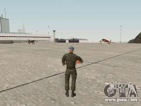 El aire de soldado de Ucrania para GTA San Andreas tercera pantalla