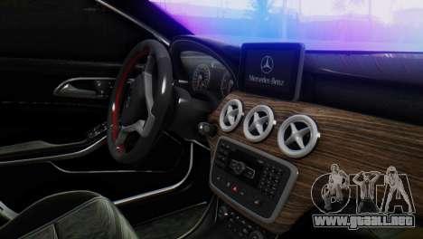 Mercedes-Benz A45 AMG para la visión correcta GTA San Andreas