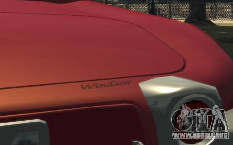 Enus Windsor Classic para GTA 4 vista interior
