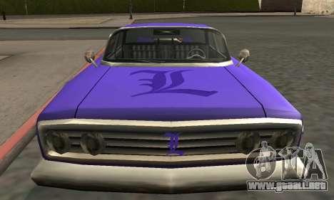 Luni Voodoo Remastered para el motor de GTA San Andreas