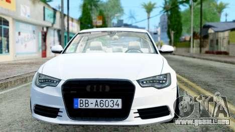 Audi A6 Stanced para GTA San Andreas left