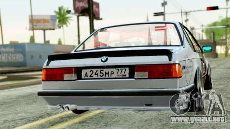 BMW M635CSi E24 1984 para GTA San Andreas left