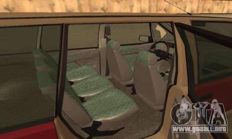 Renault Espace 2000 GTS para vista inferior GTA San Andreas