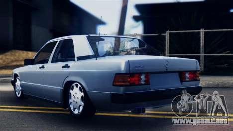 Mercedes-Benz 190E (W201) para GTA San Andreas left