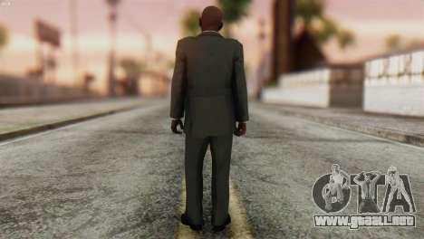 GTA 5 Skin 1 para GTA San Andreas segunda pantalla
