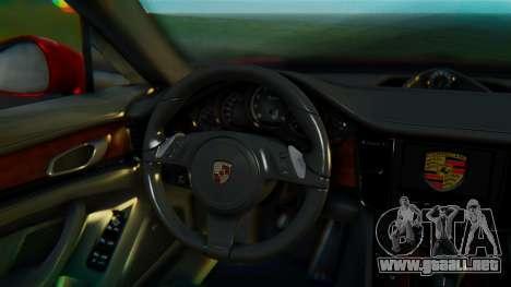 Porsche Panamera Turbo 2010 para la visión correcta GTA San Andreas