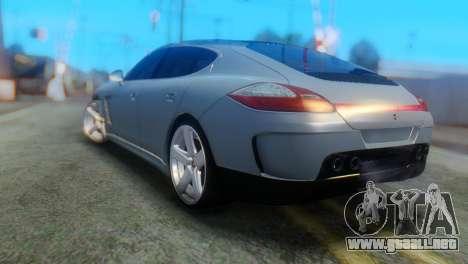Porsche Panamera Turbo para GTA San Andreas left