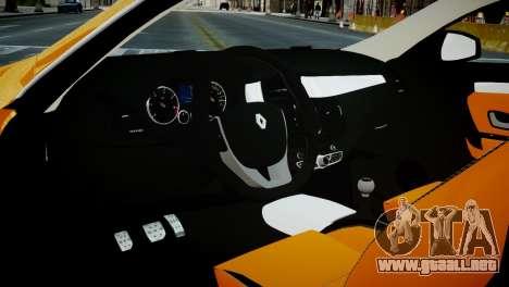 Renault Laguna Coupe para GTA 4 vista hacia atrás