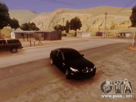 BMW M5 E60 para vista lateral GTA San Andreas