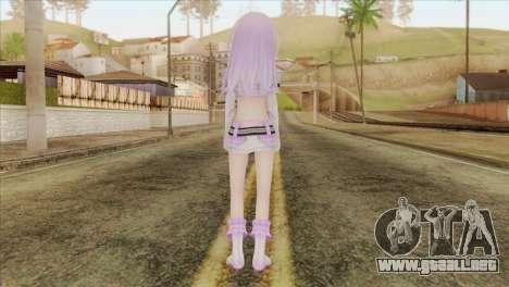 Nepgear Idol (Hyperdimension Neptunia) para GTA San Andreas segunda pantalla
