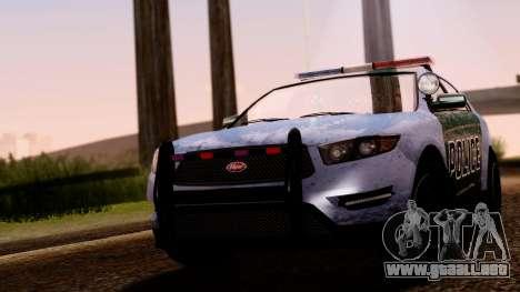 GTA 5 Vapid Police Interceptor v2 SA Style para la visión correcta GTA San Andreas