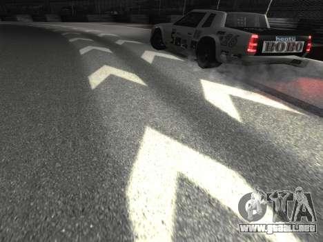 Nuevas texturas de la pista 8 Pista para GTA San Andreas tercera pantalla