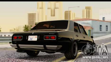 GTA 5 Vulcar Warrener IVF para GTA San Andreas left