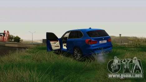 BMW X5 F15 2014 para visión interna GTA San Andreas