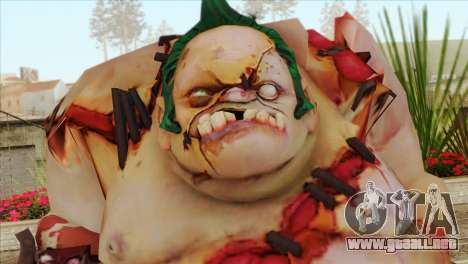 Pudge from DotA 2 para GTA San Andreas tercera pantalla