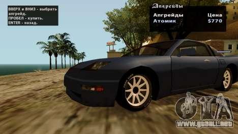 Ruedas de GTA 5 v2 para GTA San Andreas décimo de pantalla