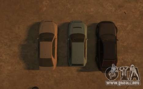 Karin Sultan Hatchback v2 para GTA 4 vista desde abajo