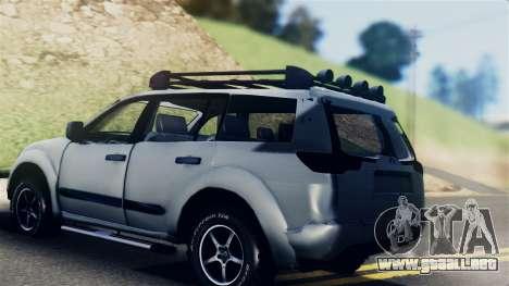 Mitsubishi Pajero 2014 Sport Dakar Offroad para GTA San Andreas left