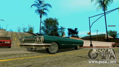 Ruedas de GTA 5 v2 para GTA San Andreas segunda pantalla