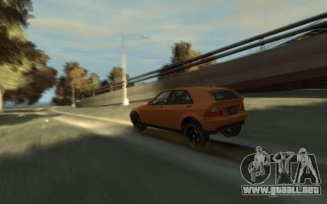 Karin Sultan Hatchback v2 para GTA 4 visión correcta