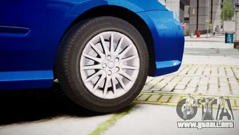 Renault Laguna III.1 Estate GT para GTA 4 Vista posterior izquierda