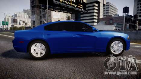 Dodge Charger SWAT Tactical Unit [ELS] bl para GTA 4 left