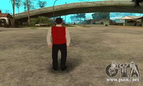Casino Skin para GTA San Andreas sucesivamente de pantalla