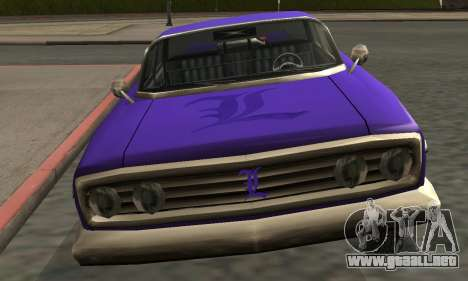 Luni Voodoo Remastered para GTA San Andreas interior