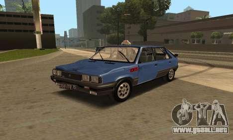 Renault 11 TXE Taxi para las ruedas de GTA San Andreas