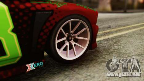 GTA 5 Bravado Buffalo Sprunk HQLM para GTA San Andreas vista posterior izquierda