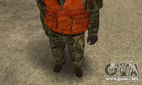 Job Man para GTA San Andreas segunda pantalla