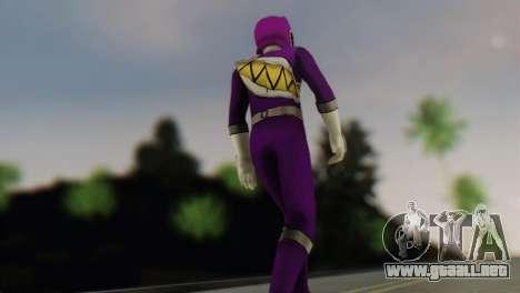 Power Rangers Skin 6 para GTA San Andreas segunda pantalla