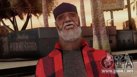 New Homeless Skin para GTA San Andreas tercera pantalla